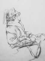 Life drawing sketch_* by Lopry