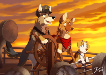 At the End of the Horizon by Skailla