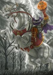 The Hungry Horseman by Garth2The2ndPower