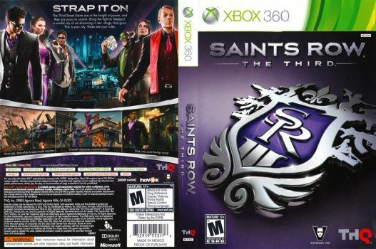 Saints Row The 3rd (Xbox 360) by dakotaatokad