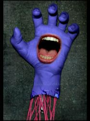 The Screaming Hand by BlakkReign