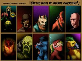 Guess the Characters- REVEALED by Deimos-Remus