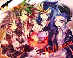 ARC V: Happy Halloween by KaZaAShaMiKo