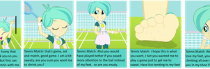 Game Set And Tennis Match by trohobo