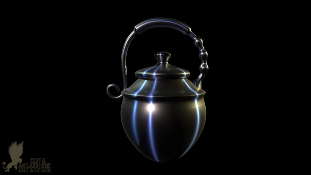 Polished Steel Urn by Lynxette79