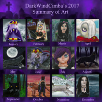 2017 Summary of Art by DarkMageVarja