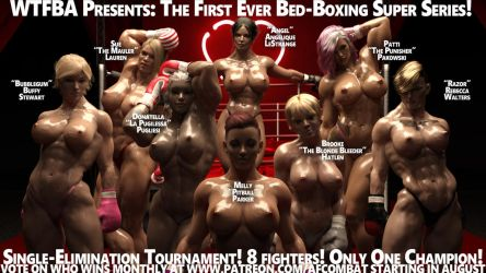 Bed-Boxing Super Series Roster! by AFCombat
