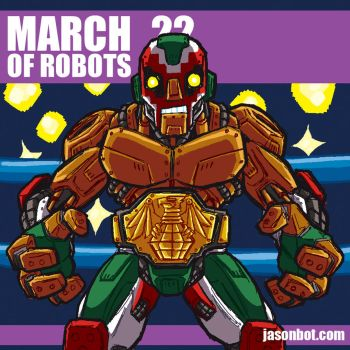 March of Robots 2018 22 by jasonhohoho