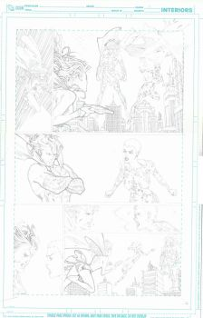 SUPERGIRL pencils pg 09 by timothygreenII