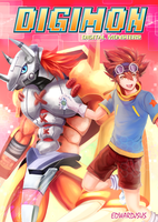 Taichi x Wargreymon - Digimon Adventure 01 by EdwardJsus