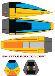 Shuttle pod Concept by bagera3005