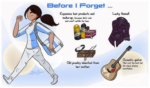 MEA: Before I Forget ... by LiliumSnow
