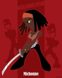 Michonne by shane613