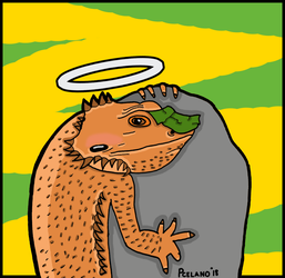 Juno The Bearded Dragon by chelano