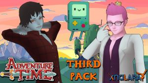 Adventure Time Models PACK 3 FOR XPS by ASideOfChidori
