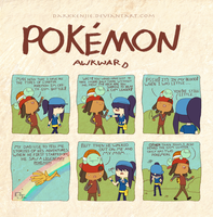 Pokemon Awkward: Daddy's boy by DarkKenjie