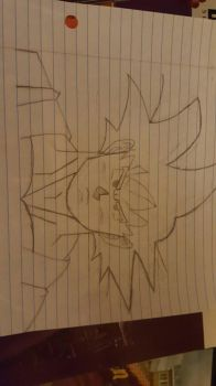 Son Goku  by QueenJace