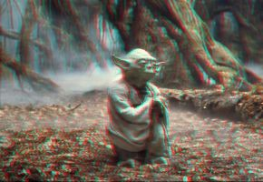 Yoda displacement 3-D by MVRamsey