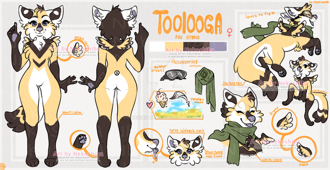 Toolooga reference by Nekoshiba
