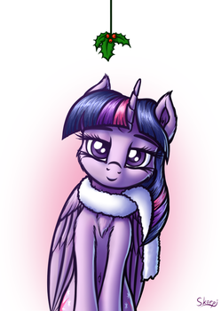 Twilight and Holly by SkorpionLetun