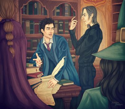 hogwarts_teachers by AnastasiaMantihora