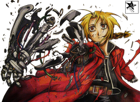 Edward Elric Extraction by TattyDesigns