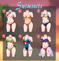 Swimsuit Adopts 2 [Open 1/6] by VanillaCirque