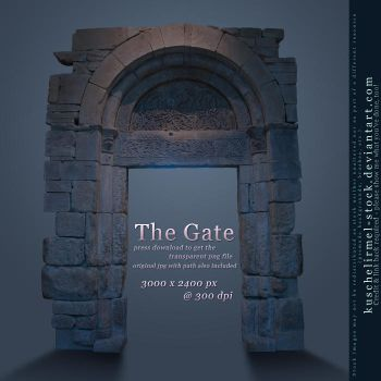 The Gate by kuschelirmel-stock