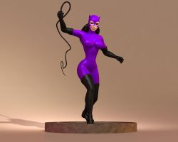 Catwoman - Maquette by rapidator