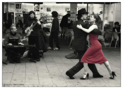 Tango Dancers by philgerm