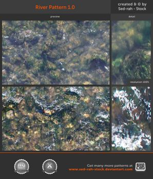 River Pattern 1.0 by Sed-rah-Stock