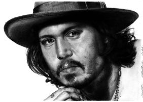 Johnny Depp by PatrisB