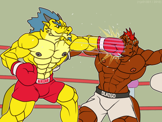Dino Beatdown by artographer-513