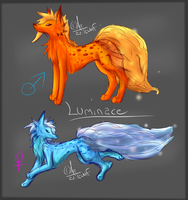 Luminace Species(new? idunno) by ZailaWulF