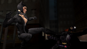 Catwoman vs Batgirl by Guitarmatt89