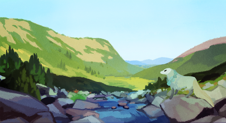 Valley stream by witherlings
