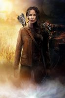 The Evolution of Katniss Everdeen by kim-beurre-lait