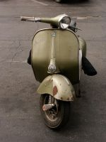 Vespa GS Scooter by rtnrobbie