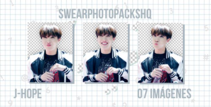 Pack PNG 290: J-Hope by SwearPhotopacksHQ