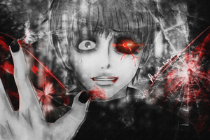 Kaneki Ken- Reflection (Updated) by Pearlonthesea
