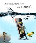 iPhone - Under Water by Kirtan-3d