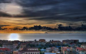 Tramonto Amanteano - HDR by yoctox