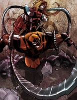 Wolverine Vs Omega Red by theSadSon