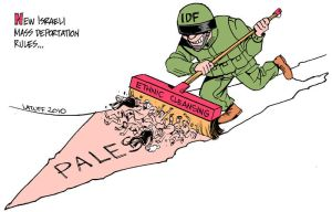 Ethnic cleansing in Palestine by Latuff2