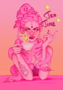 Tea by cupcakeCELESTIAL