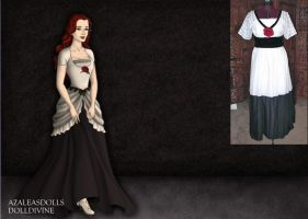 Titanic-Rose's Elevator Gown by EriksAngelOfMusic22