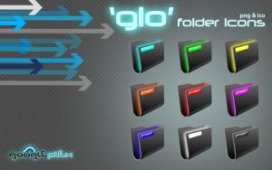 'Glo' folder icons by googleplex