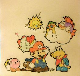 Paper Mario 64 Gang by Ms-Mowz