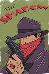 THE SHADOW POPTAGE STYLE by paintmarvels