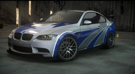 BMW M3 most wanted. the run by DazKrieger